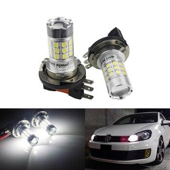 ANGRONG 2x 30W 1600lm H15 64176 LED Headlight Daytime Running Light Bulb For Audi BMW VW Ford Fiesta
