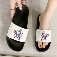 shoes for woman french bulldog animal 90s print outdoor fashion sandals 2021 women shoes comfortable slippers flip flops female