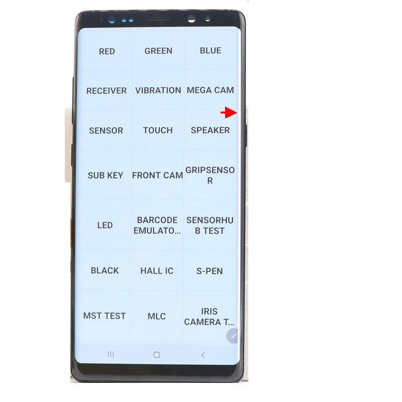 Original AMOLED NOTE 8 Display For Samsung Galaxy Note 8 N950 N950F SM-N950A N950U LCD Display Touch Screen Digitizer Replacemen enlarge