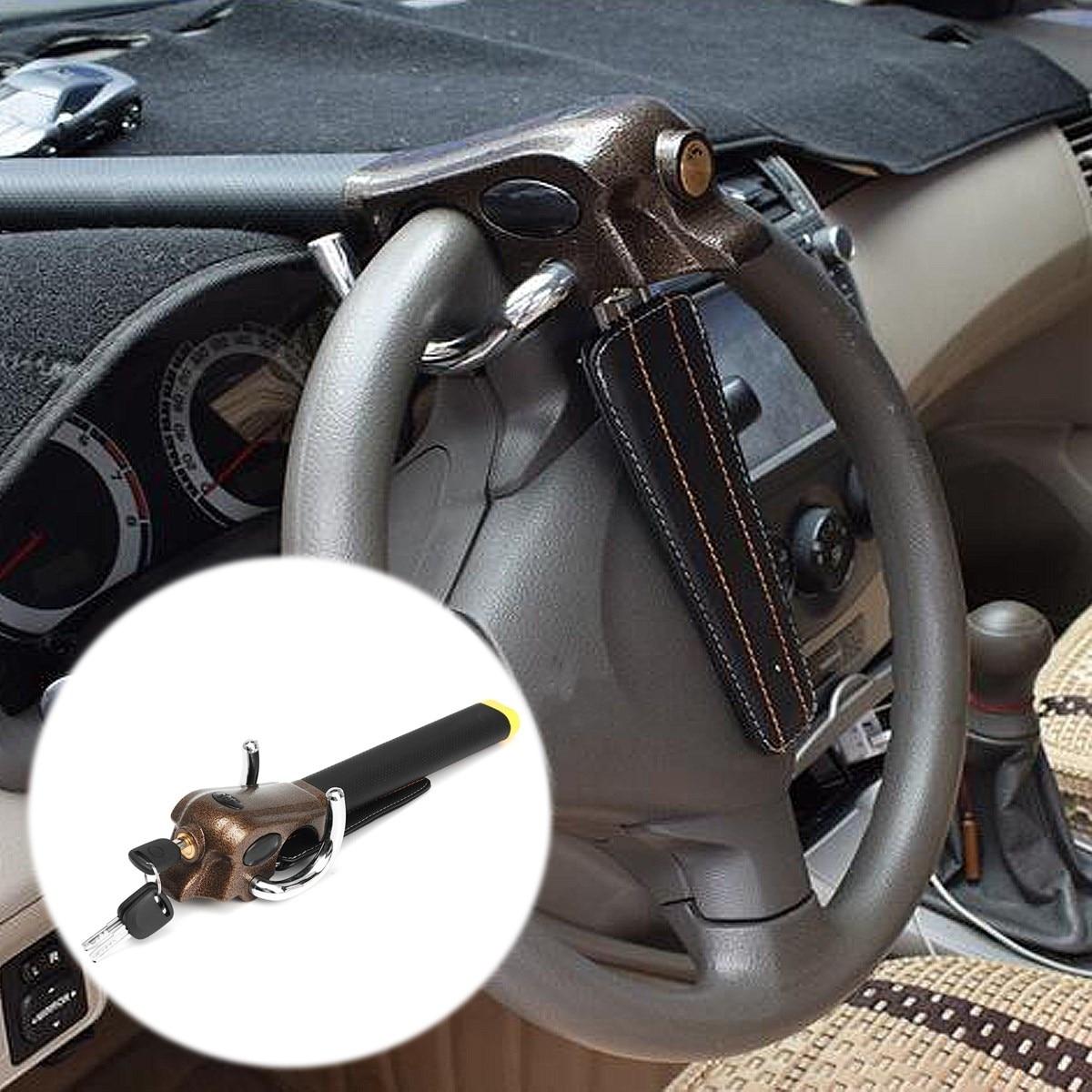 قفل أمان مضاد للسرقة للسيارة ، قفل أمان للوسادة الهوائية ، مع مفاتيح على شكل حرف T ، لسيارة SUV العالمية