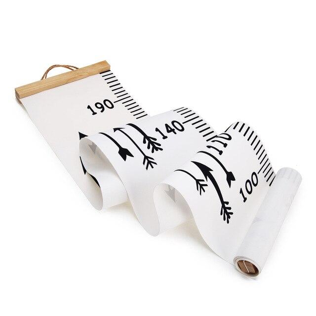 Niños niños tabla de crecimiento regla de altura pegatina de regla de pared tabla de crecimiento pared calcomanía de medición de altura pegatina regalo decorativo