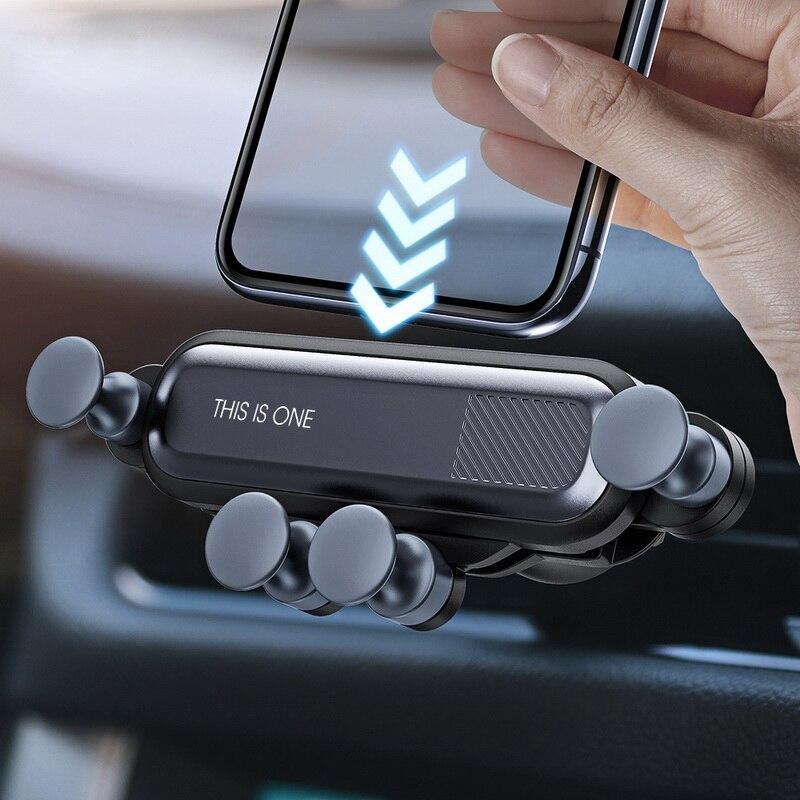 Gravidade suporte do telefone do carro para peugeot buick bentley scania 6008 301 408 skoda n-uma engrenagem NSX-GT 206 307 406