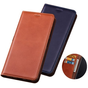 Crazy Horse Genuine Leather Wallet Phone Bag Card Holder For Samsung Galaxy S21 Plus/Galaxy S21 Ultra/Galaxy S21 Phone Cover