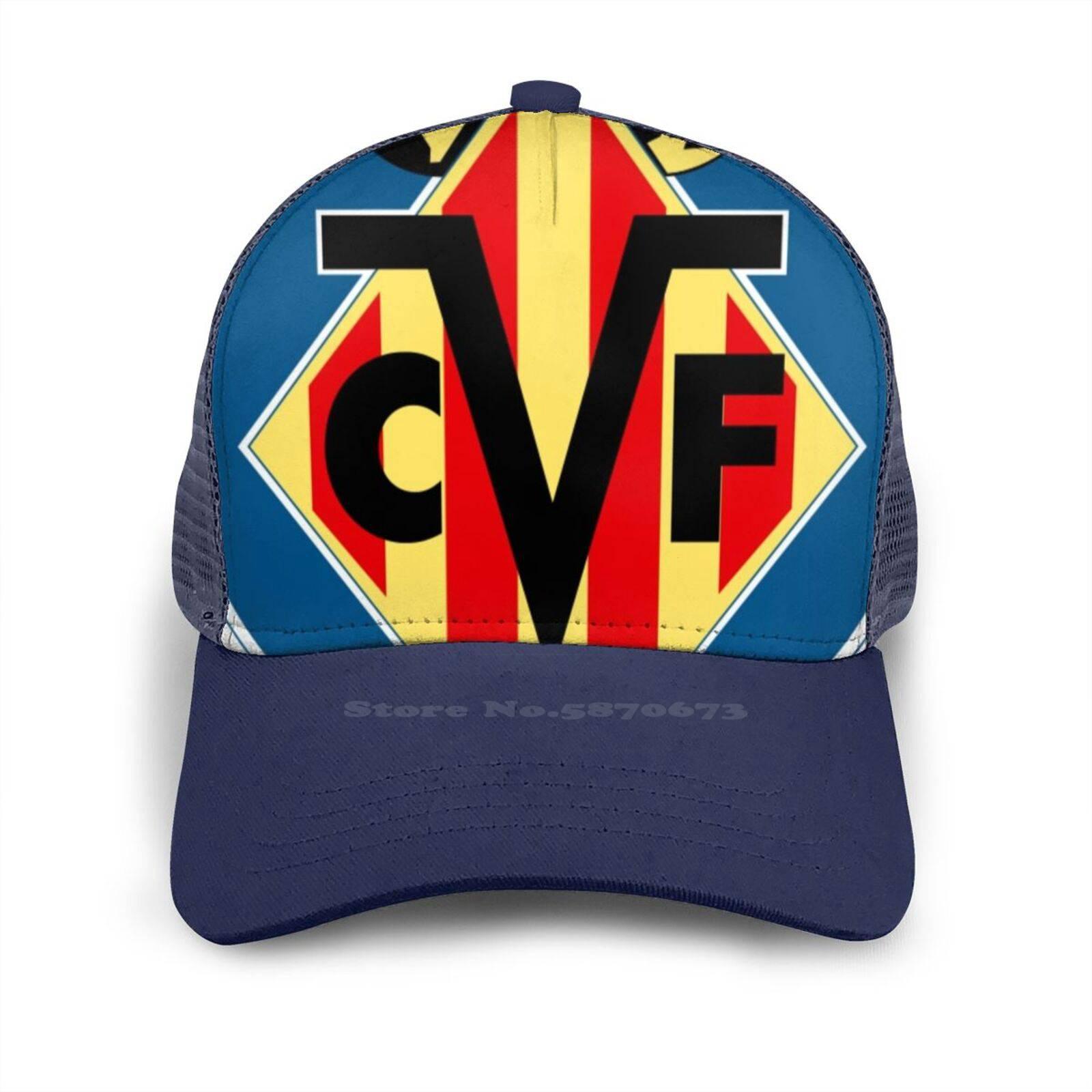 Villarreal Cf de béisbol sombrero gorra deporte exterior