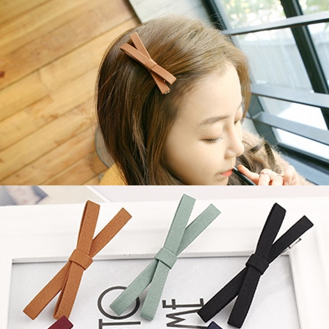 Spinki do wlosow dla dziewczynki ткань бант крестообразные заколки для волос haarspeldjes voor meisjes девушка с BB шпилькой