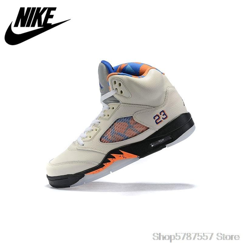 Nike - Air Jordan 5 AJ5 Mens Breathable Sneakers Athletic Shoes