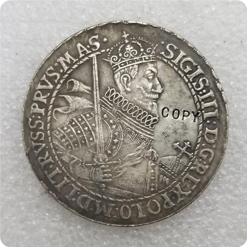 Польша-Литва THALER 1622 - SIGISMUND III копия памятных монет-Реплика монет медаль коллекционные монеты