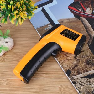 Infrared Thermometer Digital Thermometer Handheld Non-Contact Lcd Laser Industrial Measurement Surface Temperature Meter