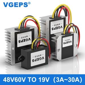 48V60V to 19V DC step-down module 30-72V to 19V regulated power converter DC-DC transformer
