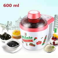 600ml ביתי מלא אוטומטית מכונת פירות בית גלידת יצרנית יוגורט קינוח יצרנית 220V