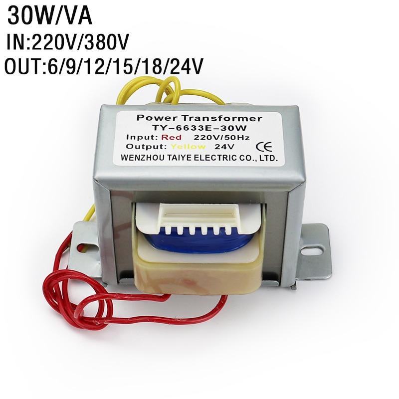 محول طاقة التيار المتردد العازل ، 30 واط ، قلب حديد ، محول صوت ، لوحة تحكم لحام إلكترونية