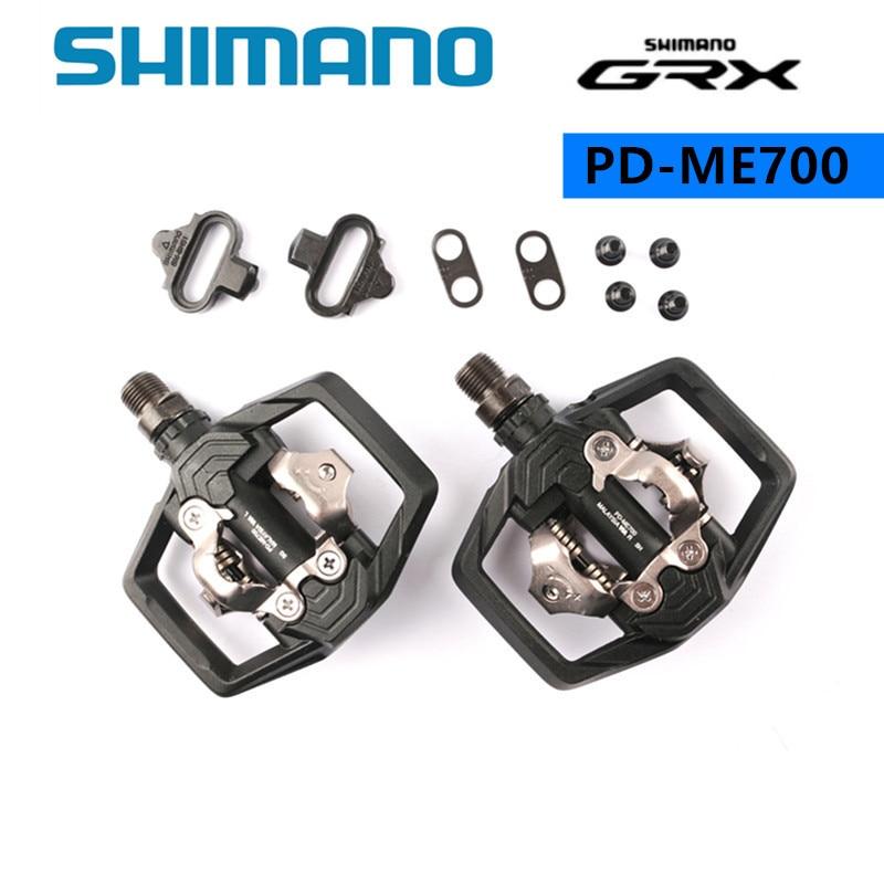 SHIMANO-Pedal estable para bicicleta de montaña, Pedal ajustable GRX PD ME700 SPD...