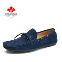 DECARSDZ Men Shoes Loafers 2021 New Spring & Autumn Comfy Men's Flats Fashion Shoes Men Moccasins Male Footwear Men Casual Shoes