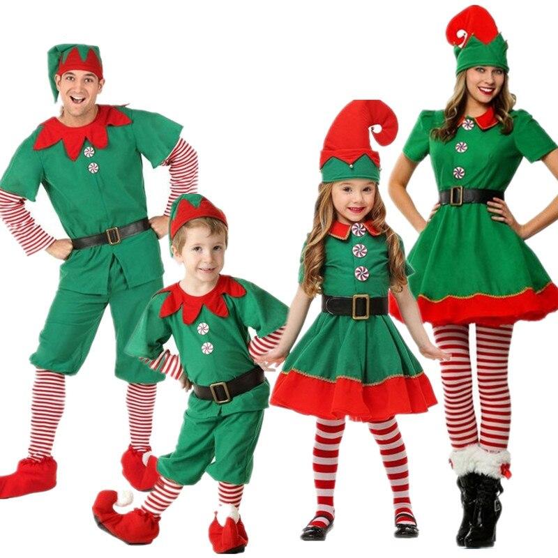 ملابس دوم منزلية لحفلات أعياد الميلاد ملابس متناسقة للكريسماس ملابس عائلية مخططة للكريسماس الأسرة 111