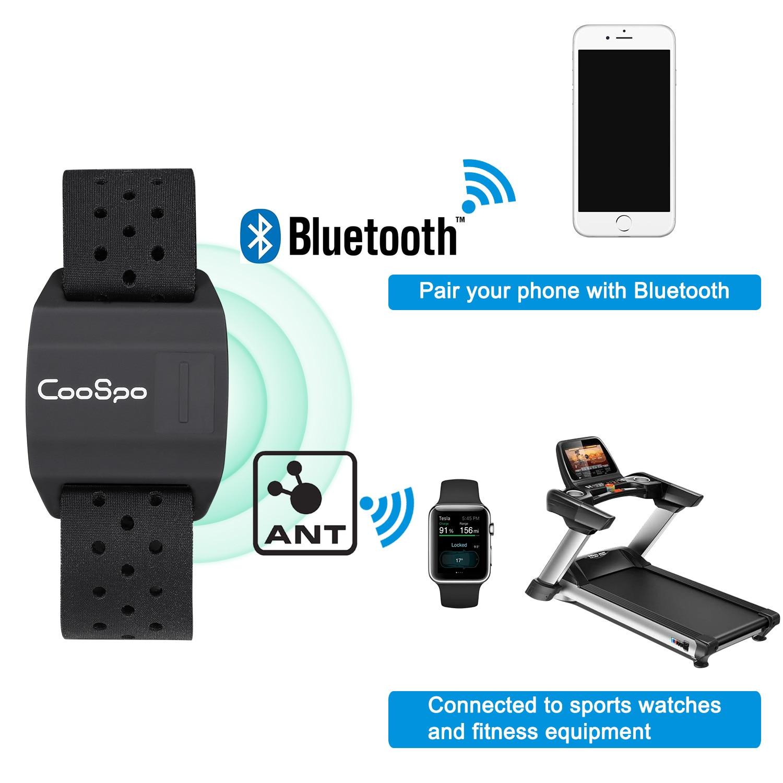 датчик wahoo wfbtsc02 Датчик сердечного ритма CooSpo для велокомпьютера Garmin Wahoo, наручный фитнес-браслет для велоспорта, бега, Bluetooth 4,0 ANT +
