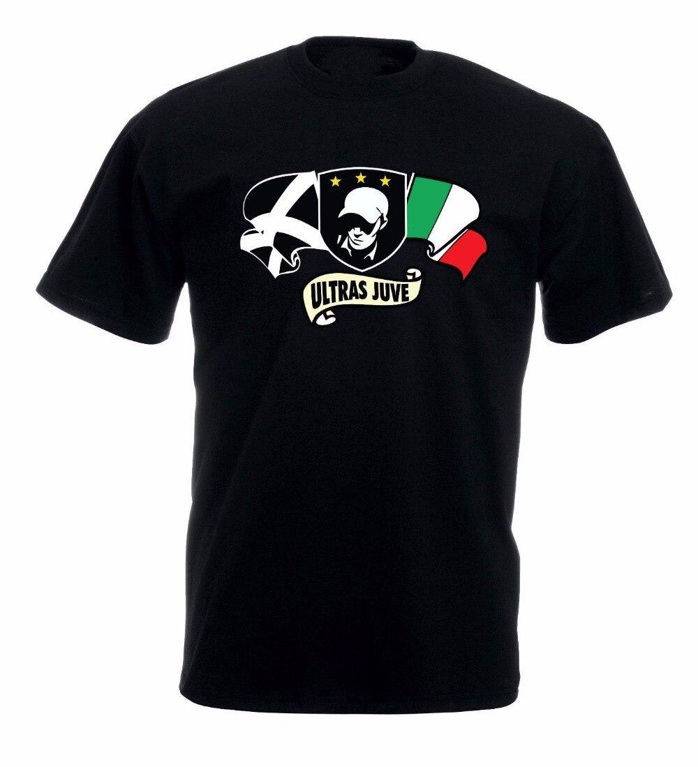 Nueva camiseta hombre algodón moda para hombres ropa Soccers Ultras Italia ropa divertida Casual camisetas cortas