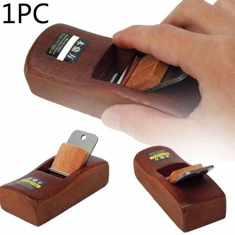 1PC Home Garden Mini Woodworking Flat Plane Wooden Hand Planer Carpenter Woodcraft DIY Tool Wood Planer