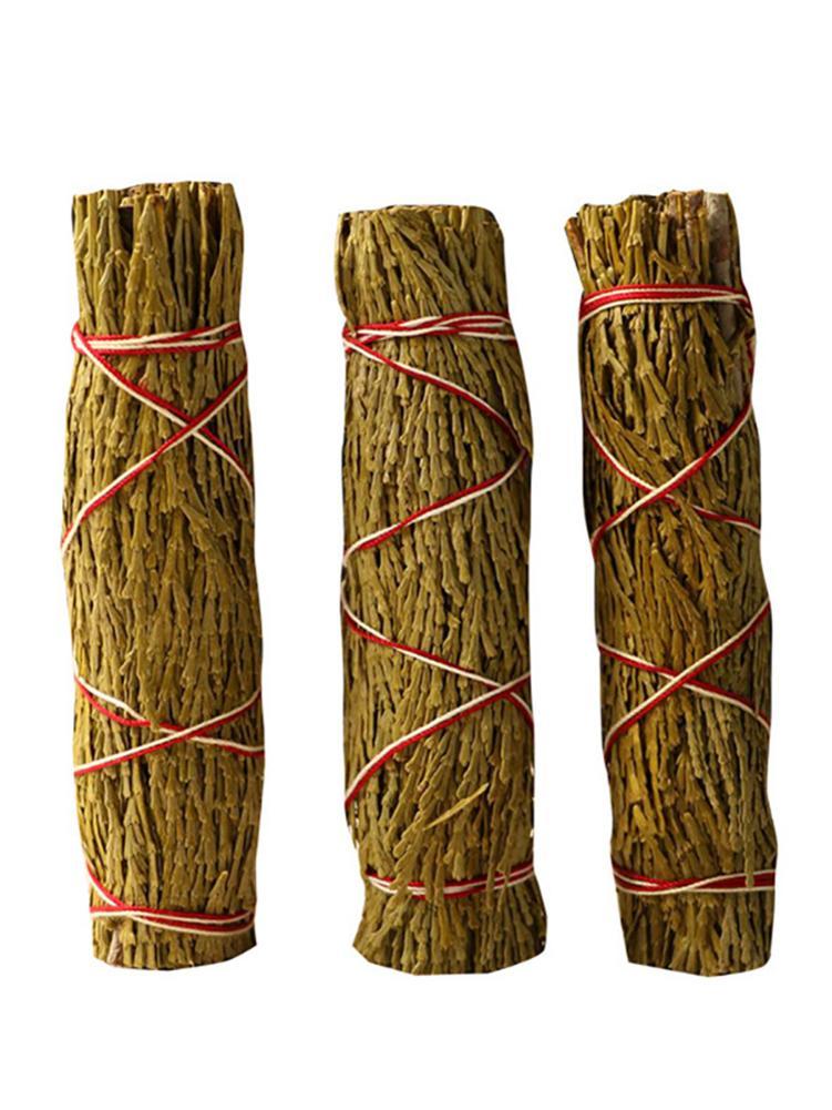Varinhas para Casa Pacote Manchas Vara Folha Pura Limpeza Remoção Negatividade Purificação Fumegante Cura Meditação 1 Pçs
