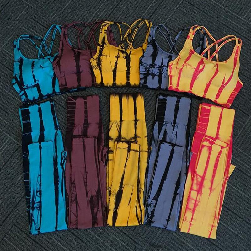 Snake Print Terno Yoga Saltar Ternos Para Mulheres Leggings Yoga Yoga Treino Conjunto Agasalho Set 2 Pedaço Conjunto Sportswear Das Mulheres sutiã esportivo