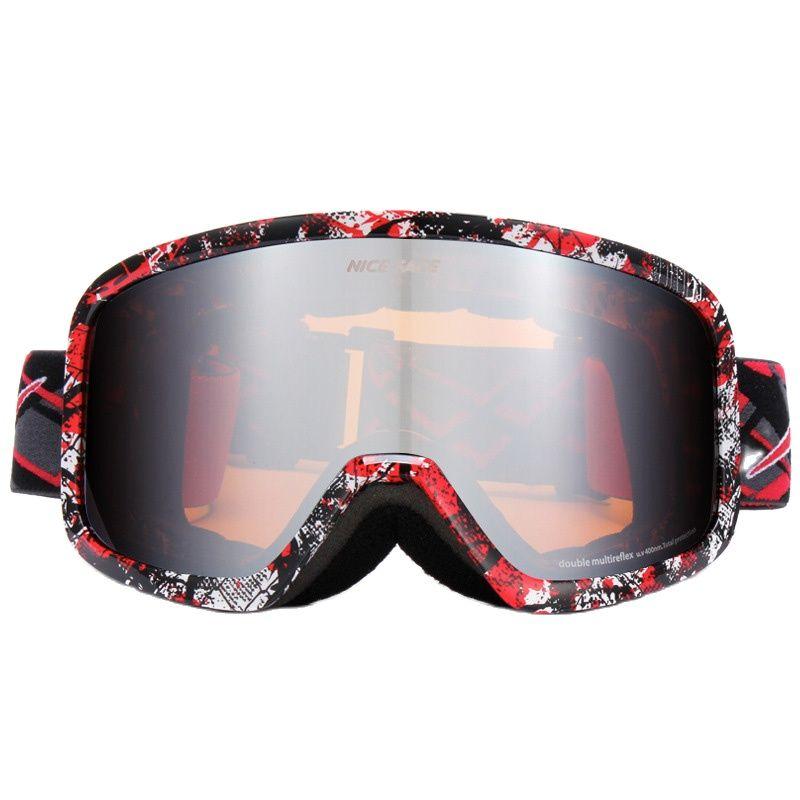 Зимние лыжные очки NICEFACE, незапотевающие очки, очки для сноуборда и снега для мужчин, двойные очки для мотокросса, поляризованные очки