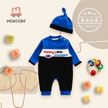 Baby 3 one piece clothes 5 long sleeves spring and autumn 6 climbing clothes newborn clothes 9 going