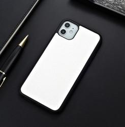 Capa luxuosa de couro de lychee, para apple iphone 6 6s 7 8 plus x xr xs 11 pro max capa de telefone, iphone x