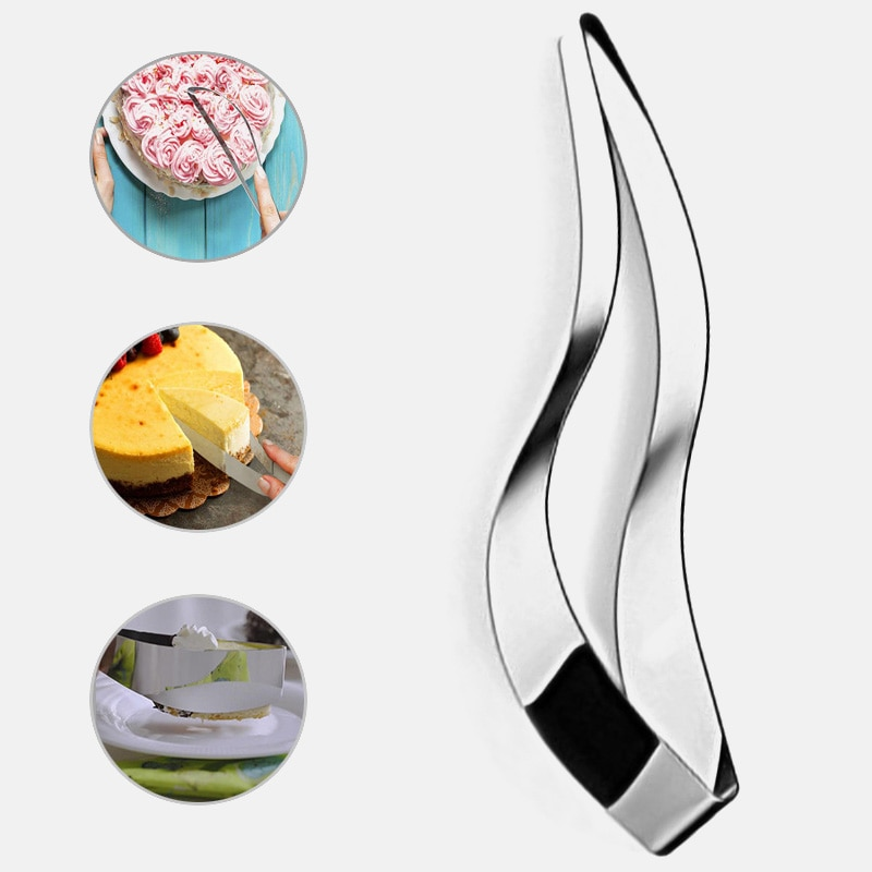 Cake Slicer cake cutter Stainless Steel Pie Fondant Dessert Bread Pastry Divider tools Slicer Cutter Slice Knife Kitchen gadget stainless steel wire cake cutter slicer adjustable diy butter bread divider pastry cake kitchen baking tools