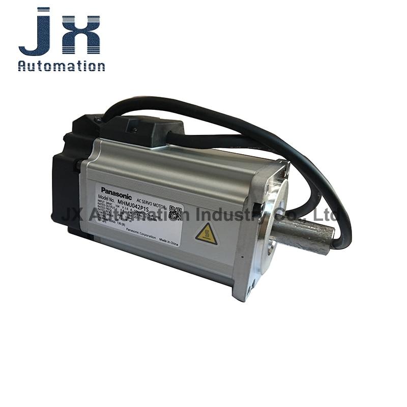 الأصلي باناسونيك 200V 0.4KW عالية الجمود محرك سيرفو يعمل بالتيار المتردد MHMJ042P1S MHMJ042P1U MHMJ042P1C MHMJ042P1A
