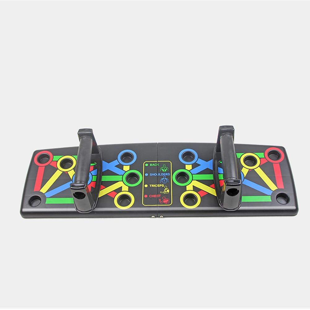 Equipo de tablero de empuje-up portátil deportes interior plegable multifuncional