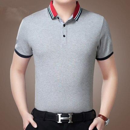 Camisa casual de manga curta masculina roupas selvagens maré 2475