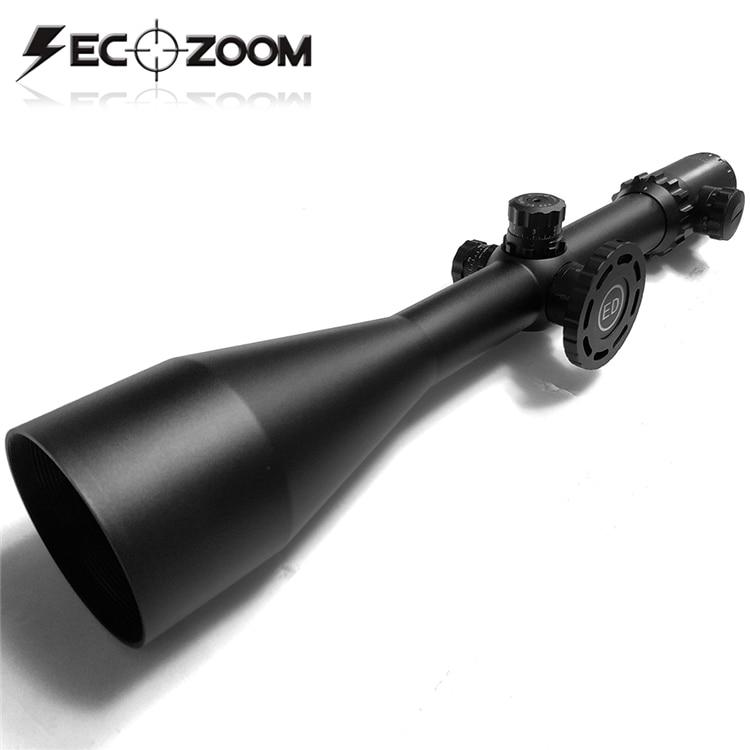 SECOZOOM-mira telescópica Para Caza, lente ED 4-50x75, mira Para Rifles de Caza