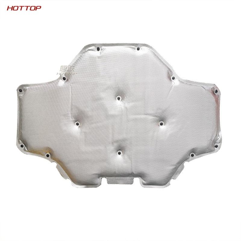 For 2018 2019 2020 BMW X3 G01 X4 G02 Car Hood Engine Firewall Mat Pad Cover Deadener Interior Heat Sound Insulation Cotton