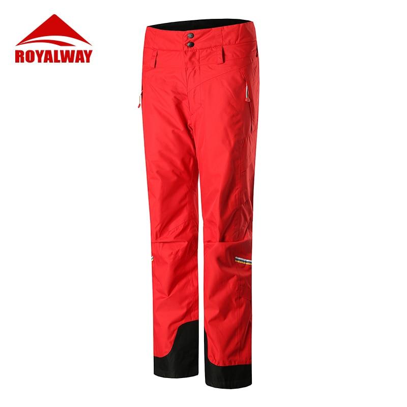 ROYALWAY 2019 новые лыжные штаны для спорта на открытом воздухе Высокое качество женщины водонепроницаемый теплый зимний Сноубординг лыжный кос...