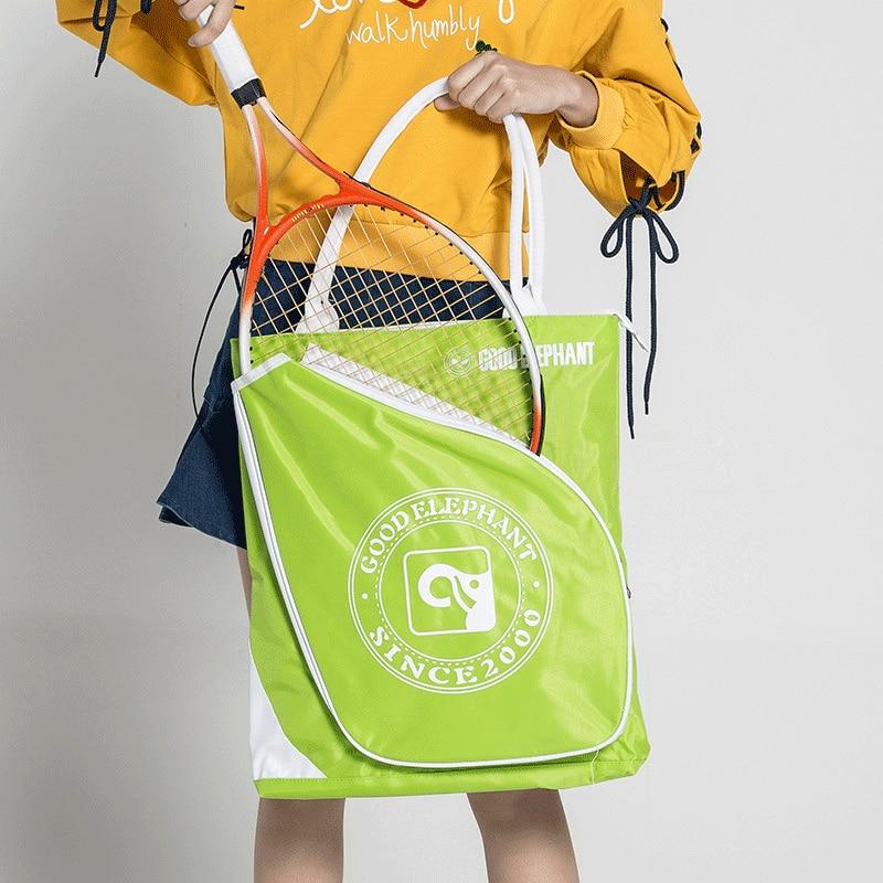 Professional Waterproof Badminton Bag Racket Tennis Backpack Large Capacity Sports Racquet Portable Bag Sports Handbag Women Men