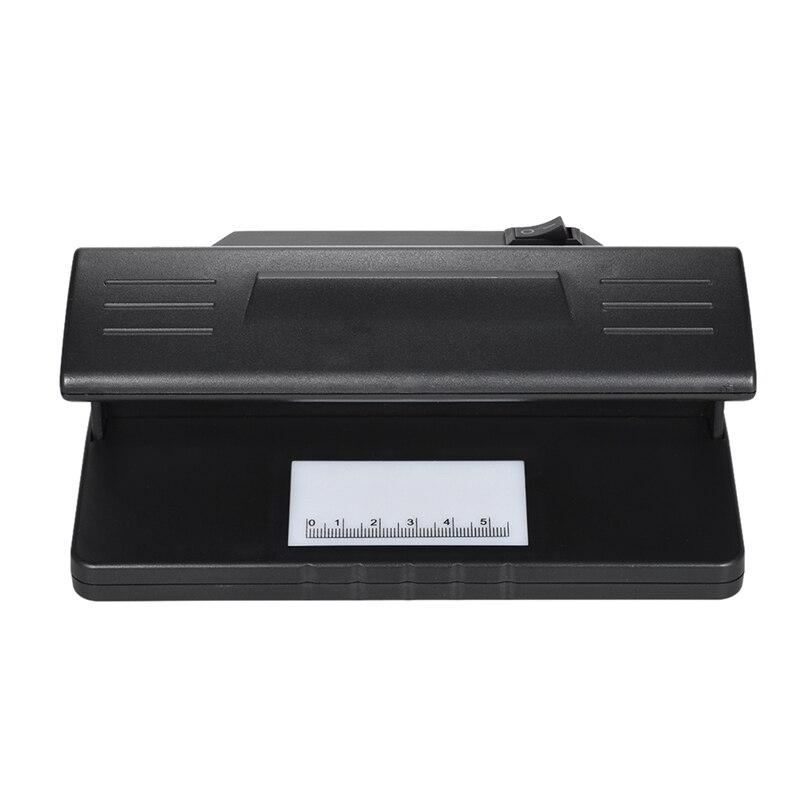 Detector de dinero falso ultravioleta Uv Detector de billetes falsos máquina falsificada probador de dinero banco de polímero falso verificador de billetes
