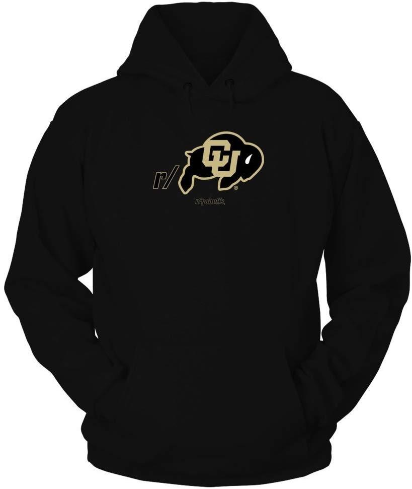 Camiseta TSDFC Colorado Buffaloes-Gobuffs en Internet Unisex hombres mujeres Sudadera con capucha