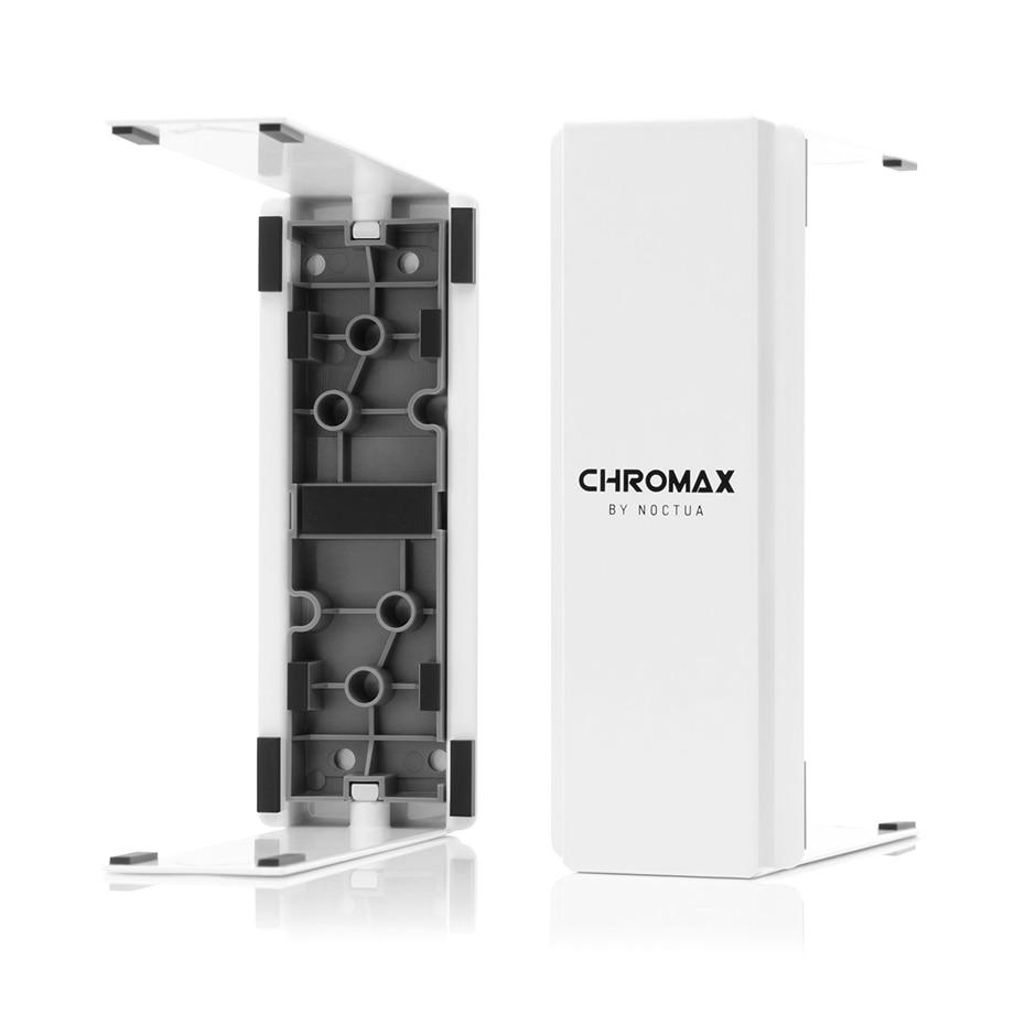 Noctua NA-HC2 chromax. أبيض أسود غرفة تبريد غطاء ل H-U12S NH-U12S TR4-SP3 NH-U12S SE-AM4 و NH-U12S DX-3647 مروحة تبريد لوحدة المعالجة الرئيسية