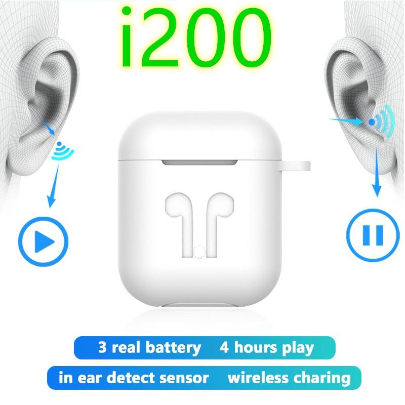 I200 tws 11 replika aire 2 bezprzewodowe słuchawki sterowana dotykiem zestaw słuchawkowy słuchawki douszne Super Bass PK i10 i12 i30 i80 i100 i500 fone de ouvido