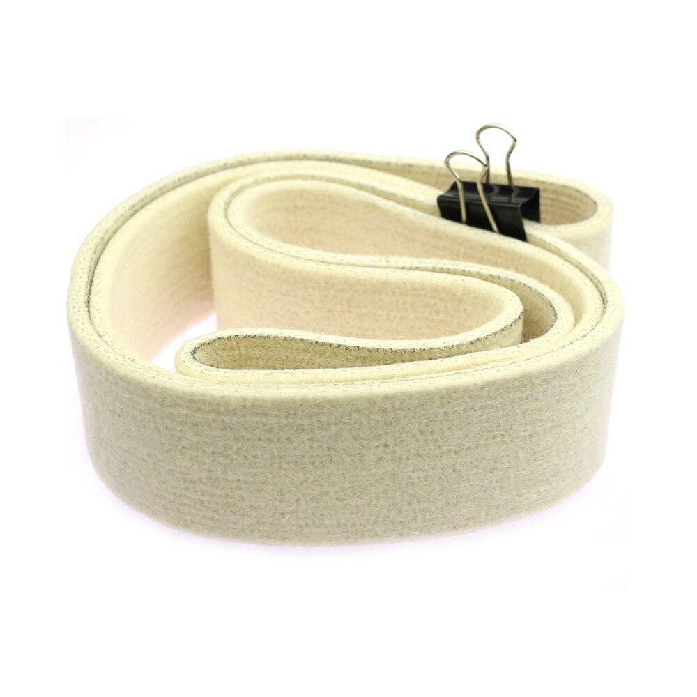 Nastro abrasivo in feltro di lana 1 pezzo 762/1220/1600/1829/2000 x - Utensili abrasivi - Fotografia 2