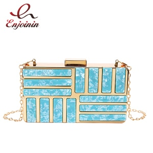 High-Grade Metal Special Design Small Square Bag 2021 Trend Ladies Chain Messenger Bag Women Shoulder Bag Luxury Flap and Purses