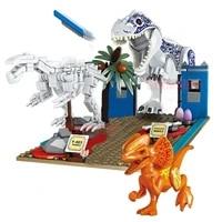 2021 new 438pcs ideas jurassic dinosaur world fossil t rex set explore the building blocks bricks toys kids gifts