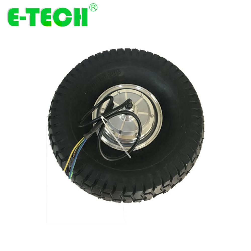 E-tech CE المعتمدة 15 بوصة 48 فولت/36 فولت 250 واط/350 واط/400 واط عربة BLDC والعتاد محور عجلة المحرك