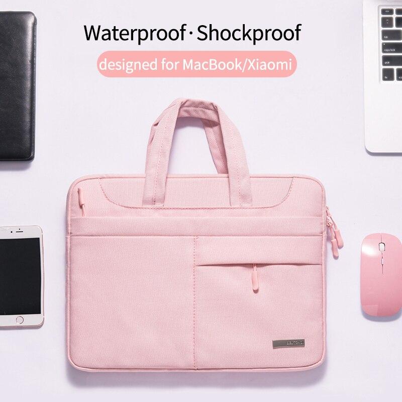 2019 الأزياء حقيبة لابتوب للنساء 12 13 14 15 15.6 بوصة ل ماك بوك Xiaomi الهواء برو الشبكية 13.3 دفتر حقيبة كتف تحمل حالة