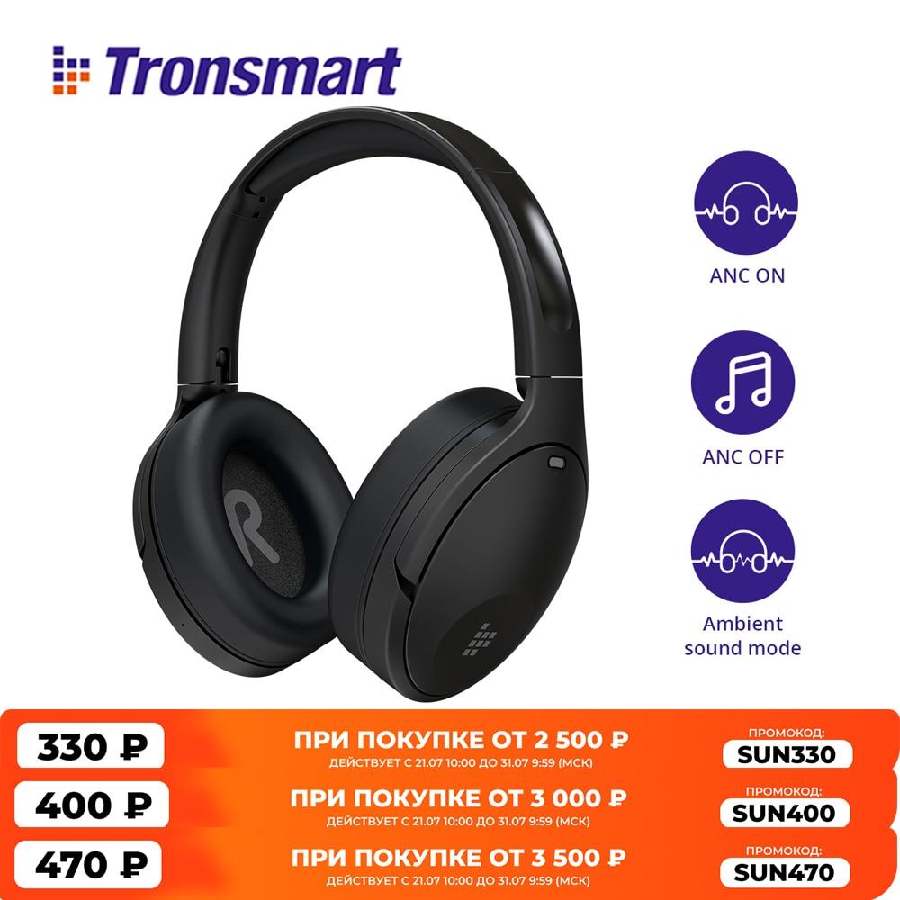 Tronsmart-auriculares híbridos Apollo Q10, audífonos con cancelación activa de ruido y altavoz...