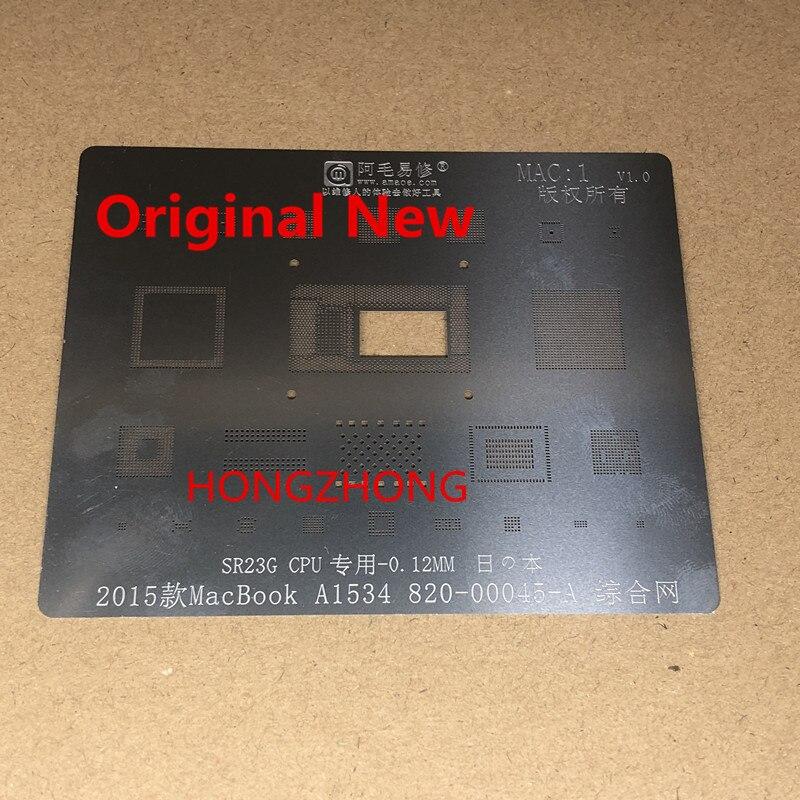 Amaoe Chip IC Universal Reballing Schablone MAC1 MAC2 MAC3 MAC4 MAC5 für Apple MacBook A1534 SR23G SR2ZY A1706 A1707 SSD DDR IC