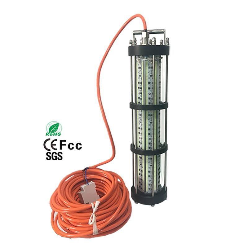 lampada de pesca ac220v 3000w luz para pesca subaquatica para lula led