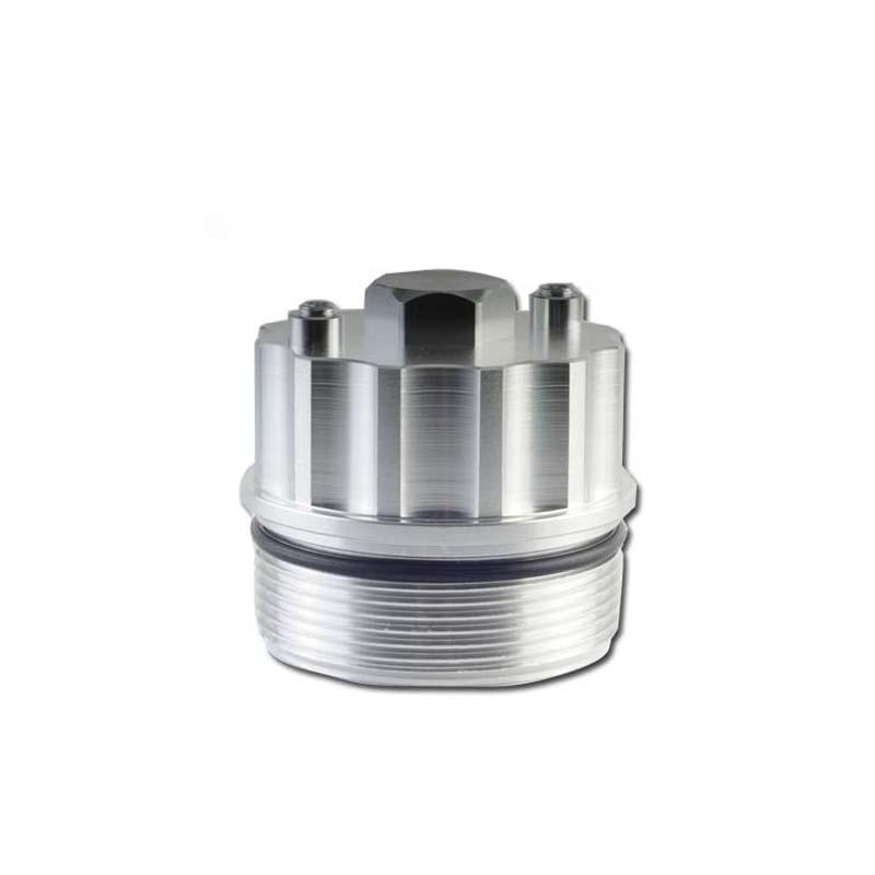 Adaptador de filtro de óleo de alumínio para a temperatura do óleo da pressão do óleo para bmw e38 730/735 v8 motor cap224
