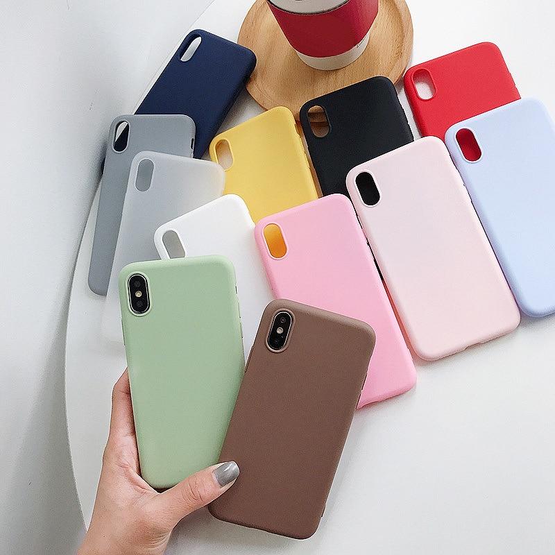 ل Xiaomi Redmi ملاحظة 7 8T 8 برو 6 5 زائد 4 4X 5A 6A حالة لينة سيليكون غطاء ل الأحمر مي Note8 8A ملاحظة 5 7A 9A 9C 9T 9S 9 الموالية
