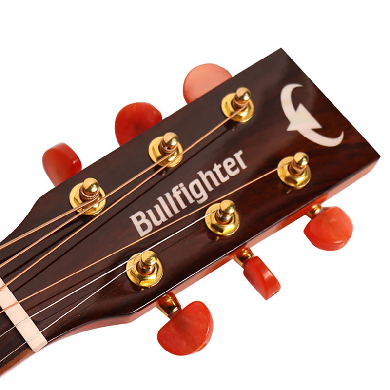Bullfighter D1M 41inch High Acoustic Guitar With Top Solid Acacia Mangium enlarge