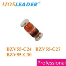 Mosleader 2500 PIÈCES LL34 BZV55-C24 BZV55-C27 BZV55-C30 SOD80C BZV55 Série 24V 27V 30V Chinois BZV55C24 BZV55C27 BZV55C30
